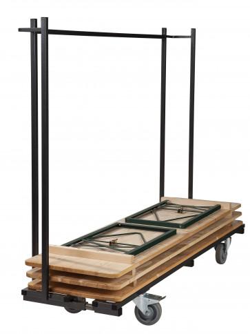 20x Biertafel (Standaard kwaliteitt) in verschillende afmetingen + Transportkar (zonder banken)