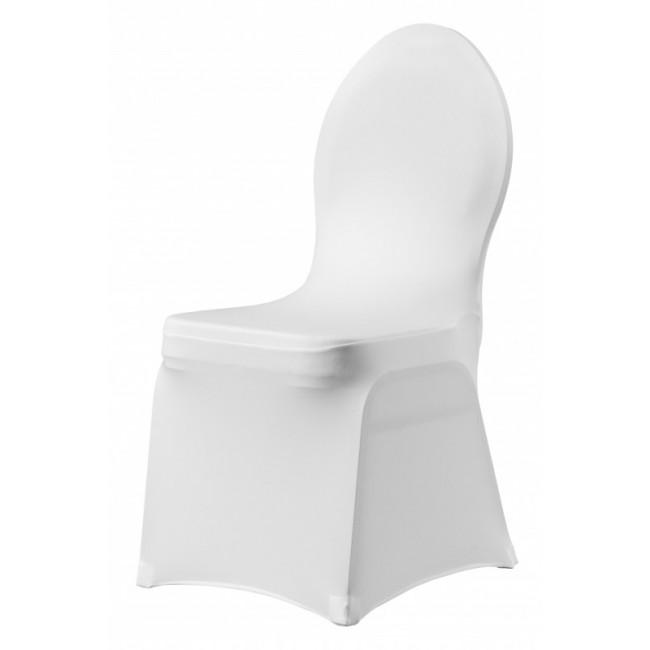 Maas stapelstoelen met stretchrok