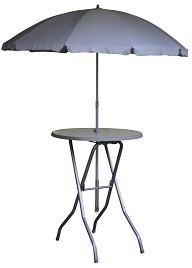 Yukon met parasolhouder en parasolgat