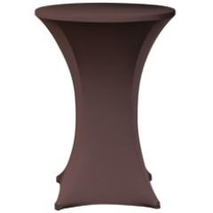 Stretchrok Chocolade + topcover
