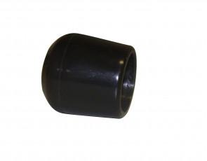 Fußkappe 19mm Schwarz