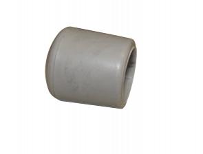 Fußkappe 19mm Grau
